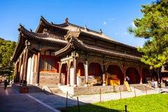 Wutaishan (góra Wutai) scena. Zdjęcie Royalty Free