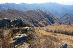 wutaishan Mt sceneria Obraz Royalty Free