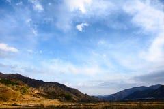 wutaishan Mt sceneria Fotografia Royalty Free