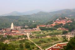 Wutaishan Tempel Komplex Image stock