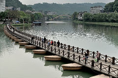 Wutong China-Small West Lake Stock Photography