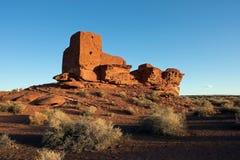 Wutpoki Indian Ruins. Old Wutpoki Indian ruins outside Flagstaff, Arizona Royalty Free Stock Photos