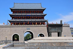 Wuwei South Wall Gate Royalty Free Stock Photography