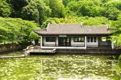 Wuxi Κίνα οικοδόμησης Taihu Στοκ Φωτογραφίες