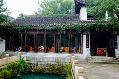 Wuxi Huishan Ancient Town Scenery. Huishan Ancient Town is located in the west of Wuxi City, only 2.5 kilometers away from the city center, and has Shishan ruins royalty free stock photos