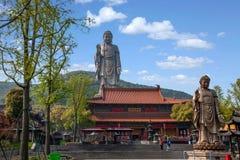 Wuxi Lingshan Buddha Lizenzfreie Stockfotos