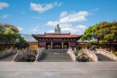 Wuxi Lingshan Buddha Royaltyfri Fotografi