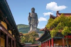 Wuxi Lingshan Buddha Stock Photo