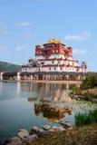 Wuxi Lingshan sceniskt område fem Yin Tan City för jätte- Buddha Fotografering för Bildbyråer