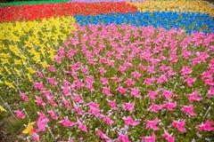 Wuxi Taihu Liyuan wiatraczek Zdjęcie Royalty Free