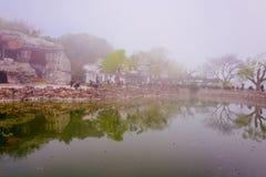 Cherry Blossom valley,wuxi,china. Wuxi Taihu Yuantouzhu Park Cherry Blossom valley royalty free stock image