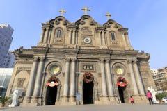 Wuxingjie-Kirche von Xian-Stadt, Porzellan Adobe RGB Stockbilder