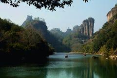 Wuyi berg Royaltyfria Foton