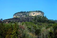 Wuyi berg Royaltyfria Bilder