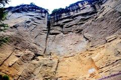 Wuyi góra danxia geomorfologii sceneria w Chiny Obrazy Stock