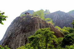 Wuyi mountain , the danxia geomorphology scenery in China Stock Image