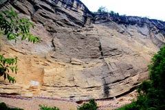 Wuyi mountain , the danxia geomorphology scenery in China Royalty Free Stock Photos