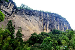 Wuyi mountain , the danxia geomorphology scenery in China Stock Photos