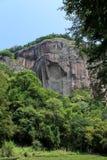 Wuyi mountain , the danxia geomorphology scenery in China Royalty Free Stock Photography