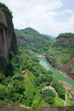 Wuyi mountain landscape Stock Photography