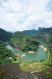 Wuyi mountain landscape Royalty Free Stock Photo