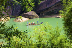 Wuyi mountain scenery in China Royalty Free Stock Photography