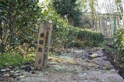Wuyi Rock tea  demonstration garden. Wuyi Rock Tea Demonstration Garden with varieties of tea in Wuyishan of Nanping city, Fujian province, China Stock Image