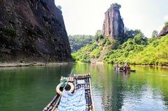 Wuyishan εννέα ποταμός Κίνα κάμψεων στοκ φωτογραφία με δικαίωμα ελεύθερης χρήσης