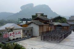 Wuyishan Impression Dahongpao outdoor theatre stock photos