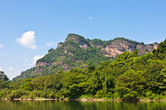 Wuyishan Scenery Royalty Free Stock Images