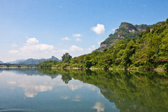 Wuyishan Scenery Royalty Free Stock Photography