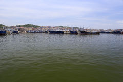 Wuyu fishing pier Stock Photography