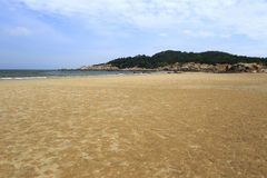 Wuyu island beach Royalty Free Stock Photos