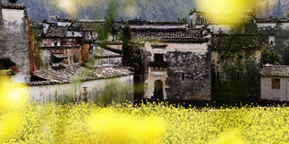 wuyuan瓷老的城镇 免版税库存图片