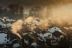Wuyuan ancient architecture Stock Photos