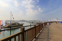 Wuyuan bay marina Royalty Free Stock Photography