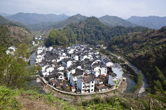 Wuyuan, china: jujing village Stock Photos