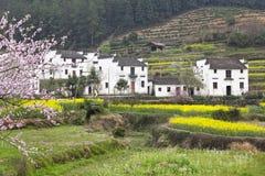 Wuyuan, china: rural houses Stock Photography