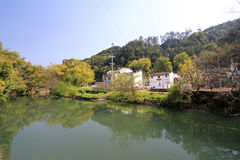 Wuyuan County in China Royalty Free Stock Photos