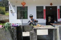 Wuyuan County in China Royalty Free Stock Image