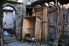 wuyuan dom wiejski brama Zdjęcie Stock