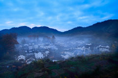 Wuyuan  stone  town Royalty Free Stock Image