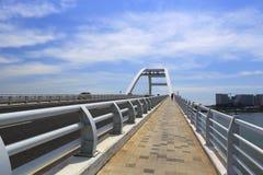 Wuyuan x arch bridge deck Royalty Free Stock Photography