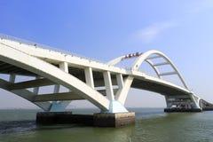 Wuyuanbaybrug Stock Afbeeldingen