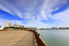 The wuyuanwan bay park in the afternoon Stock Photography