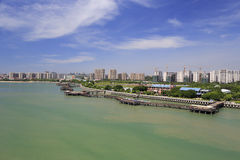 The wuyuanwan bay park of amoy Stock Images