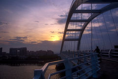 Wuyuanwan bridge in xiamen china Royalty Free Stock Image