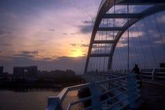 Wuyuanwan bro i det xiamen porslinet Royaltyfri Bild