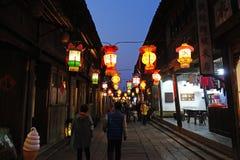 Wuzhen西部风景区域 库存照片