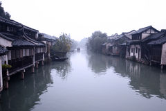 Wuzhen运河 图库摄影